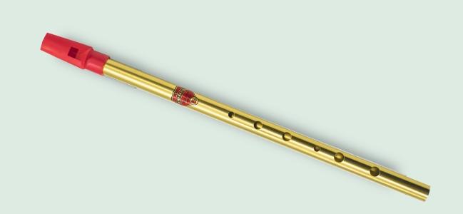 Generation brass Bb whistle