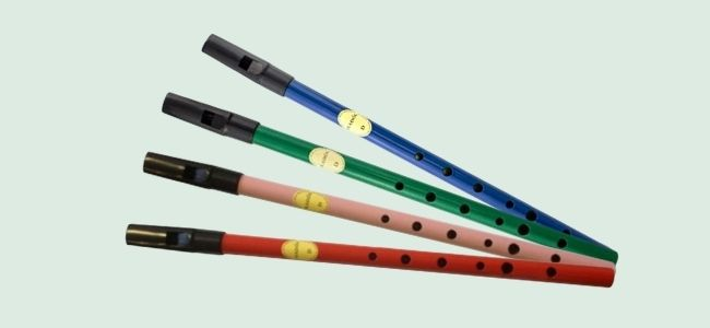 Feadog colored tin whistle