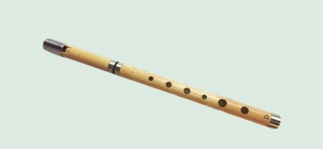 McManus wooden Tin Whistle